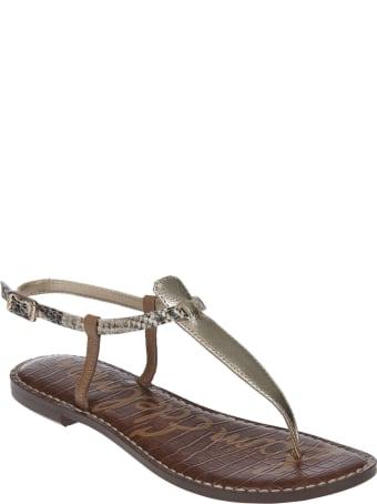 Sam Edelman Logo Flat Sandals