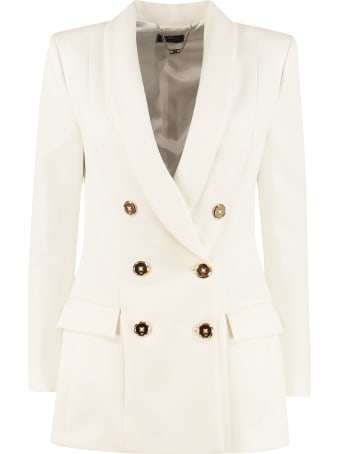 Elisabetta Franchi Celyn B. Double Breasted Blazer