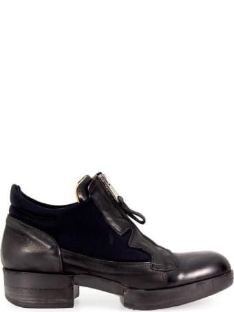 IXOS Zip Black Platform Boot