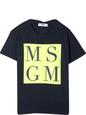 MSGM Blue T-shirt Teen