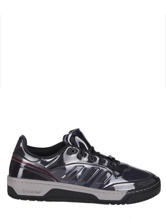 Adidas Originals by Craig Green Grey Canvas And Rubber Cg Rivalry Polta Sneakers