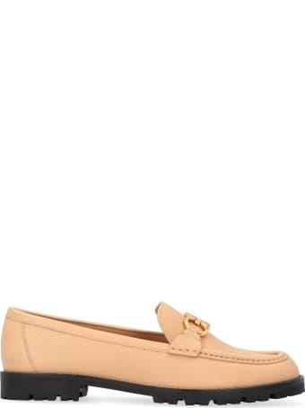 Salvatore Ferragamo Gancini Leather Loafers