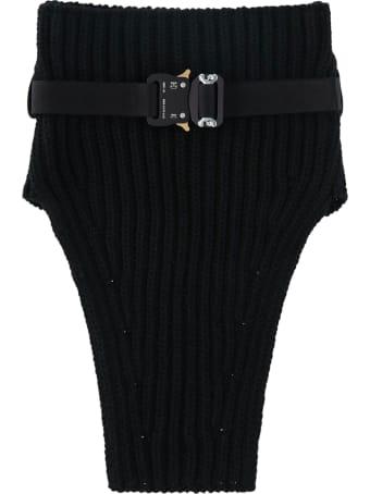 1017 ALYX 9SM Knit Neck Warmer W Metal Buckle