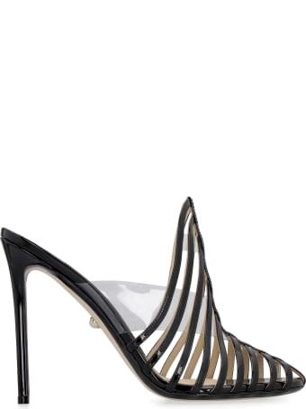 Alevì Alessandra Patent Leather Sandals