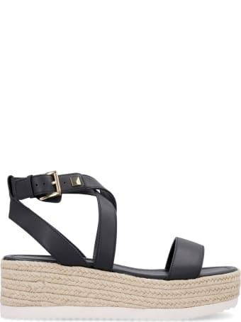 MICHAEL Michael Kors Lowry Leather Sandals
