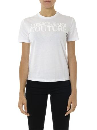 Versace Jeans Couture Versace Jeans White Cotton T-shirt