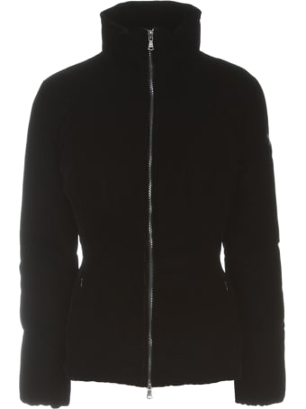 Emporio Armani Short Velvet Slim Fit Padded Jacket