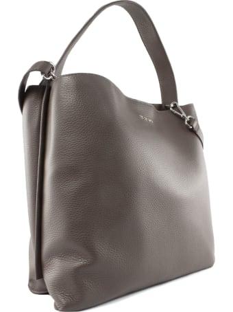Orciani Brown Jackie Shoulder Bag