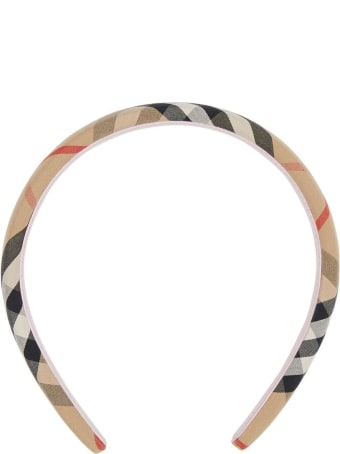 Burberry Headband Check