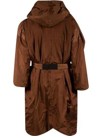 Kimonorain Belted Long Zip Jacket