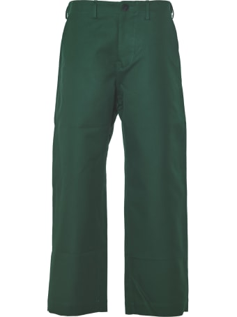 Sofie d'Hoore Pants With Adjustable Straps Along Sides