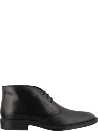 Tod's Leather Laced Up Shoes
