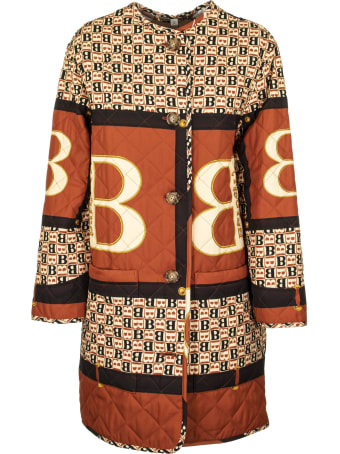 Burberry Archive Scarf Print Diamond Quilted Coat Bardsey