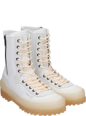 Superga Cotseu  Sneakers In Beige Canvas