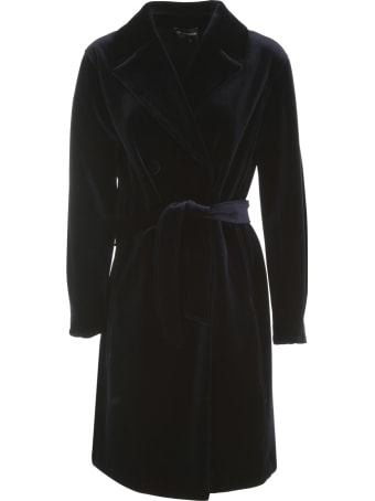 Emporio Armani Smooth Velvet Trench
