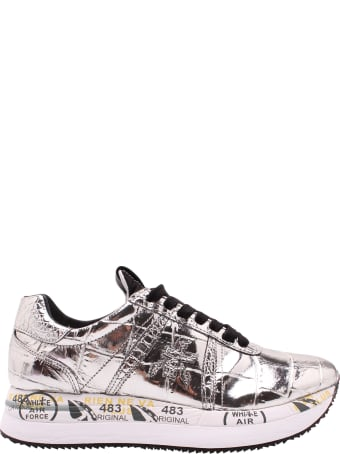 Premiata 'conny 4818' Leather Sneakers