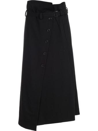 Y's Skirt Wrap W/belt