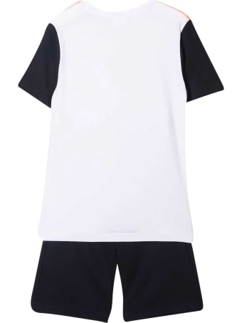 Hugo Boss Complete With T-shirt And Sports Shorts