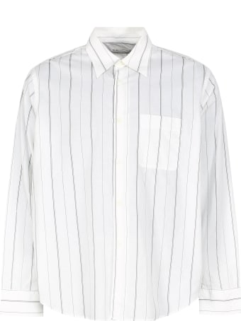 Our Legacy Policy Striped Cotton Shirt