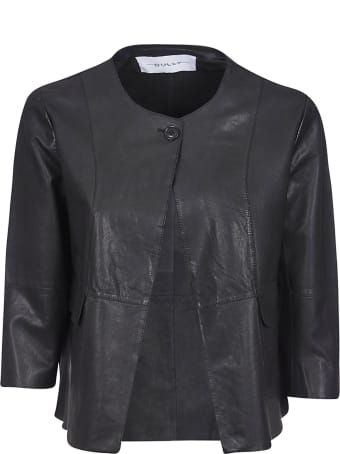 Bully One-button Leather Jacket