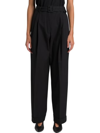 Dries Van Noten High-rise Trousers With Belt