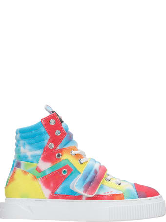 Gienchi Hypnos Sneakers In Multicolor Canvas