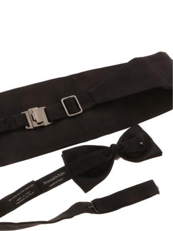 Ermenegildo Zegna Kit Cummerbund Bow Tie