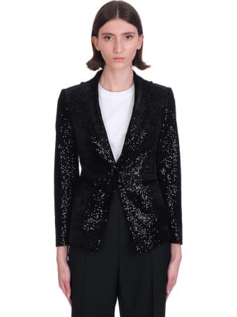 Tagliatore 0205 Blazer In Black Polyester