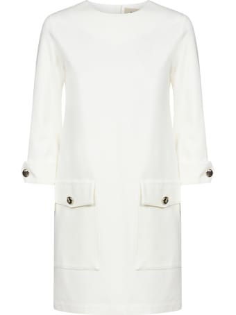 Blanca Vita Angelica Pockets-detail Dress