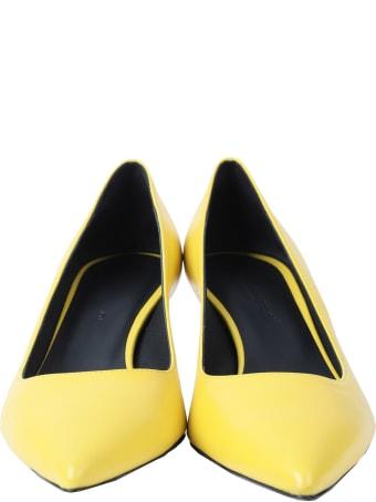 Luca Valentini Yellow Fiona Pumps