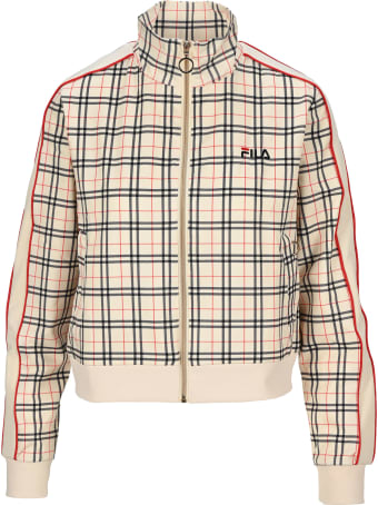Fila Checked Sweatshirt