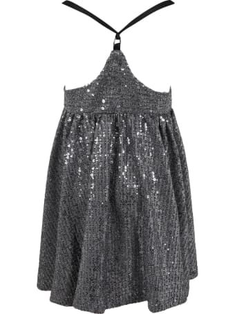 Le Gemelline by Feleppa Silver Overalls For Girl