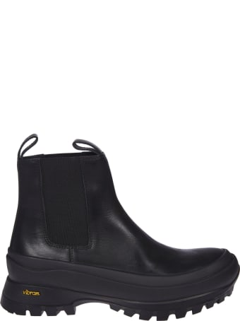 Jil Sander Elasticated Side Panel Ankle Boots