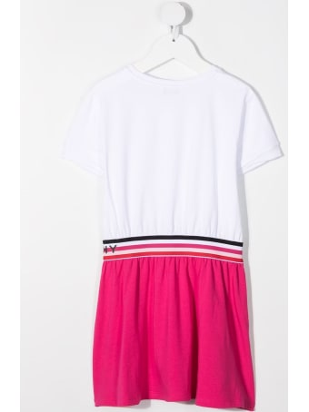 Givenchy Color Block Jersey T-shirt Dress