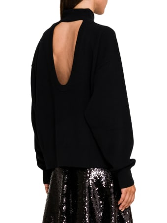 Circus Hotel Cut Out Back Sweater