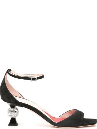 Roger Vivier Vivier Marlene Strass Sandals 100