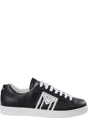 Prada Linea Rossa Logo Print Sneakers