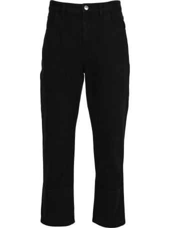Raf Simons Raf Simons Cropped Straight Jeans