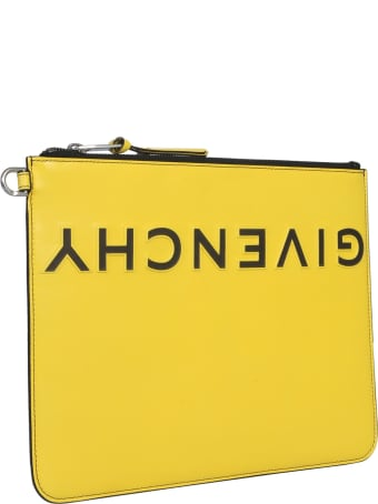 Givenchy Clutch With Rough Logo