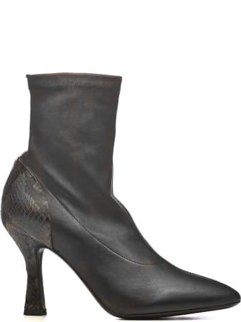 Vic Matié Vic Matié Leather Ankle Boots