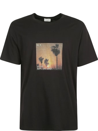 Saint Laurent Photo Print T-shirt