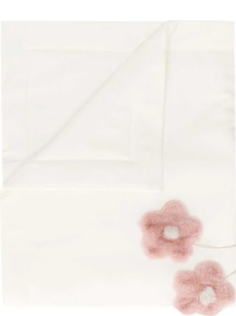 Il Gufo White Blanket