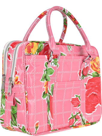 Comme Des Garçons Girl Floral Print Tote Bag