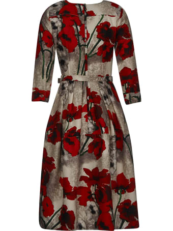 Samantha Sung Floral Belted Dress