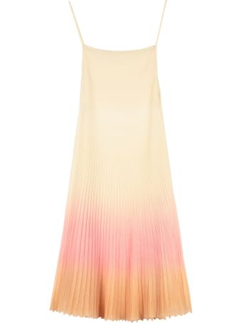 Jacquemus Pleated Knitted Dress