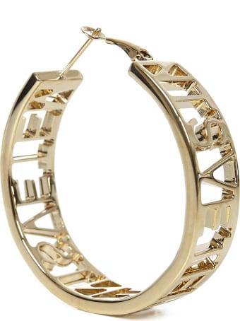 VETEMENTS Logo Hoop Earrings