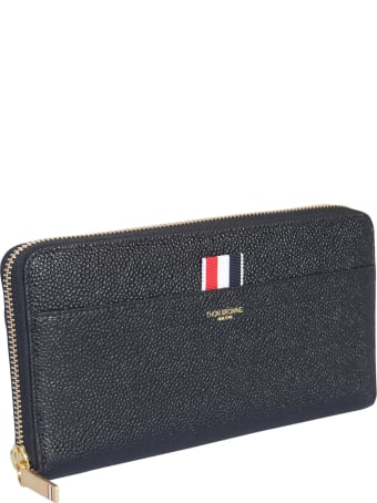 Thom Browne Long Wallet With Zip