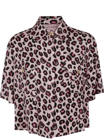 Chiara Ferragni Leopard Boxy Shirt