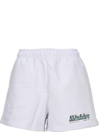 MISBHV Logo Print Shorts