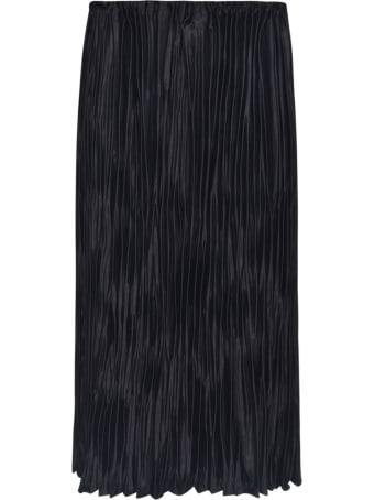 Jil Sander Pleated Straight Skirt